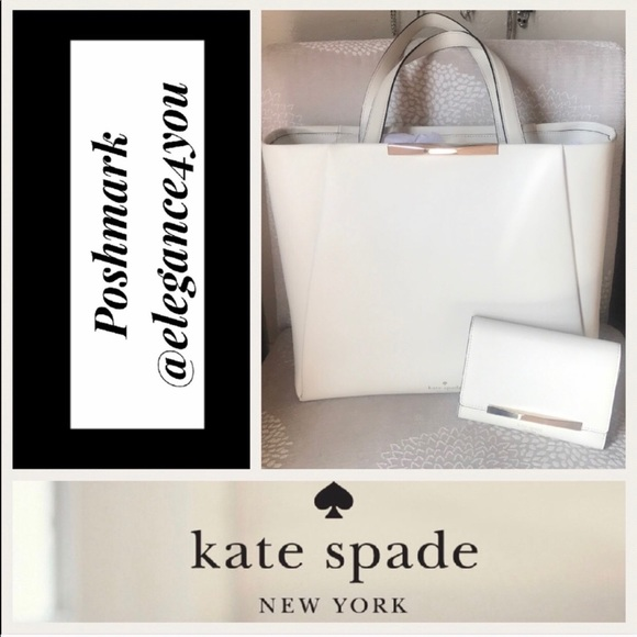 kate spade Handbags - ✨KATE SPADE✨Authentic Tote & Wallet Set NEW!